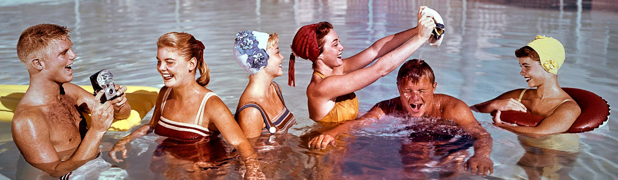Pool Party, 1958