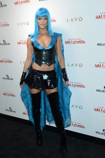 Le déguisement de Nina Agdal pour Halloween