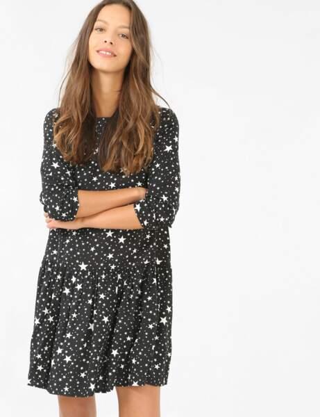 Robes petit prix : étoiles
