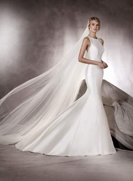 Robe de mariée Pronovias : Agnes