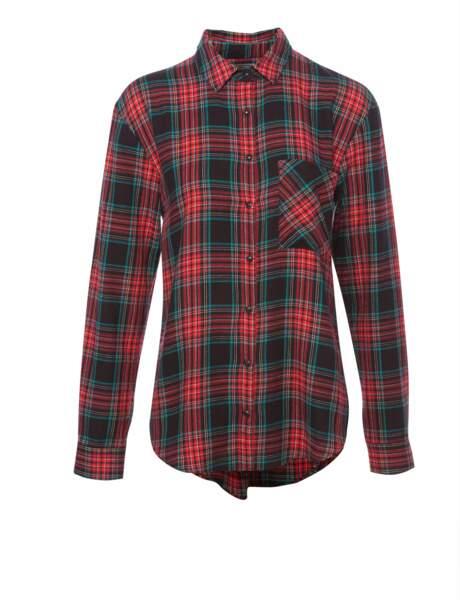 La chemise à carreaux