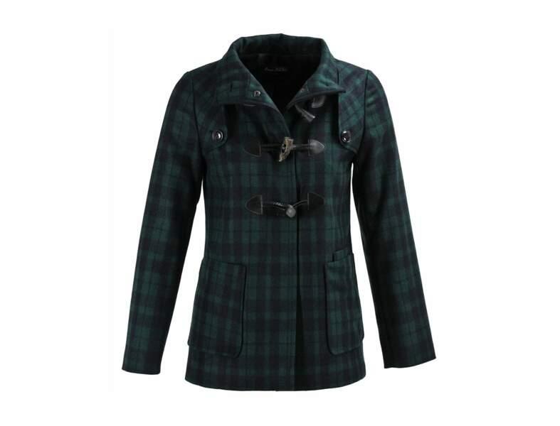Manteau à carreaux Avant Première