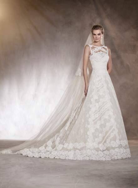Robe de mariée Pronovias : Ariana