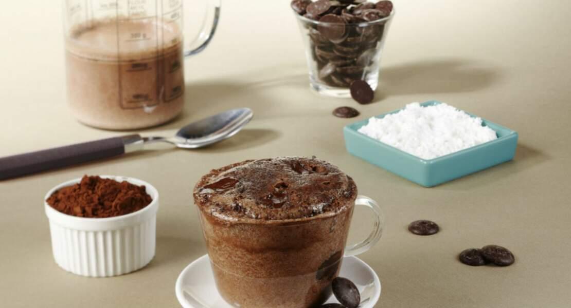 Mugcake au cacao