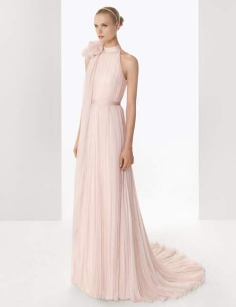 Robe de mariée pastel