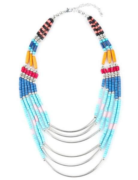 Le collier coloré