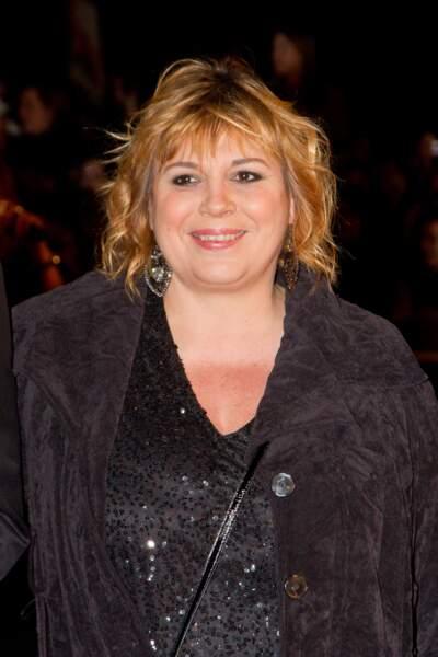 Michèle Bernier aux NRJ Music Awards en janvier 2013.