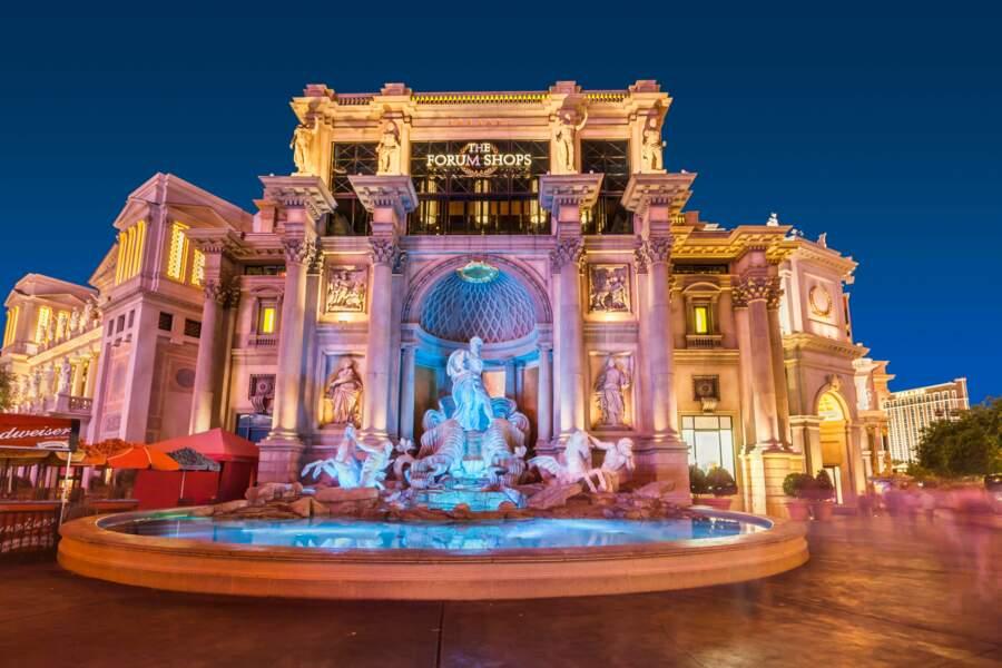 Fontaine de Trevi au Forum shops du Caesars Palace