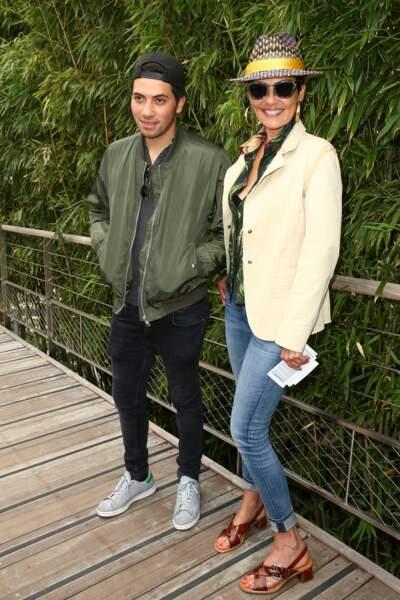 Cristina Cordula et son fils Enzo : 2015