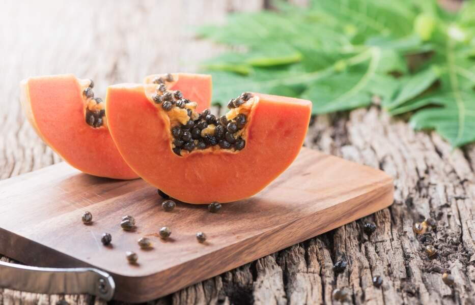 Fruit minceur : la papaye 31 kcal les 100g