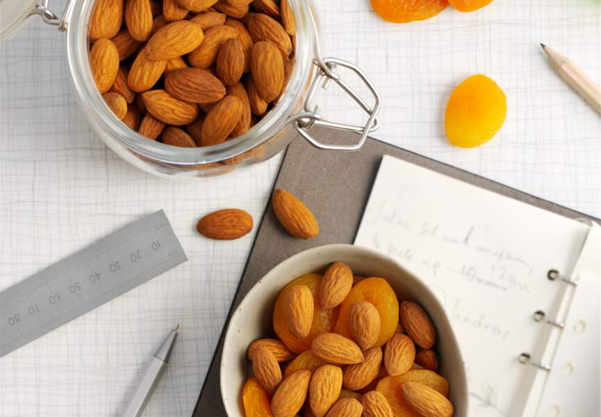 Amandes aux abricots secs