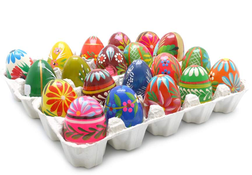 Des idées pour décorer vos oeufs de Pâques