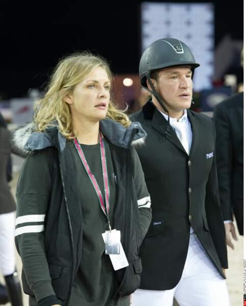 Benjamin Castaldi et son ex-femme Vanessa Broussouloux : 2013