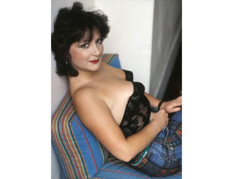 Josiane Balasko en 1983, l'actrice à 33 ans