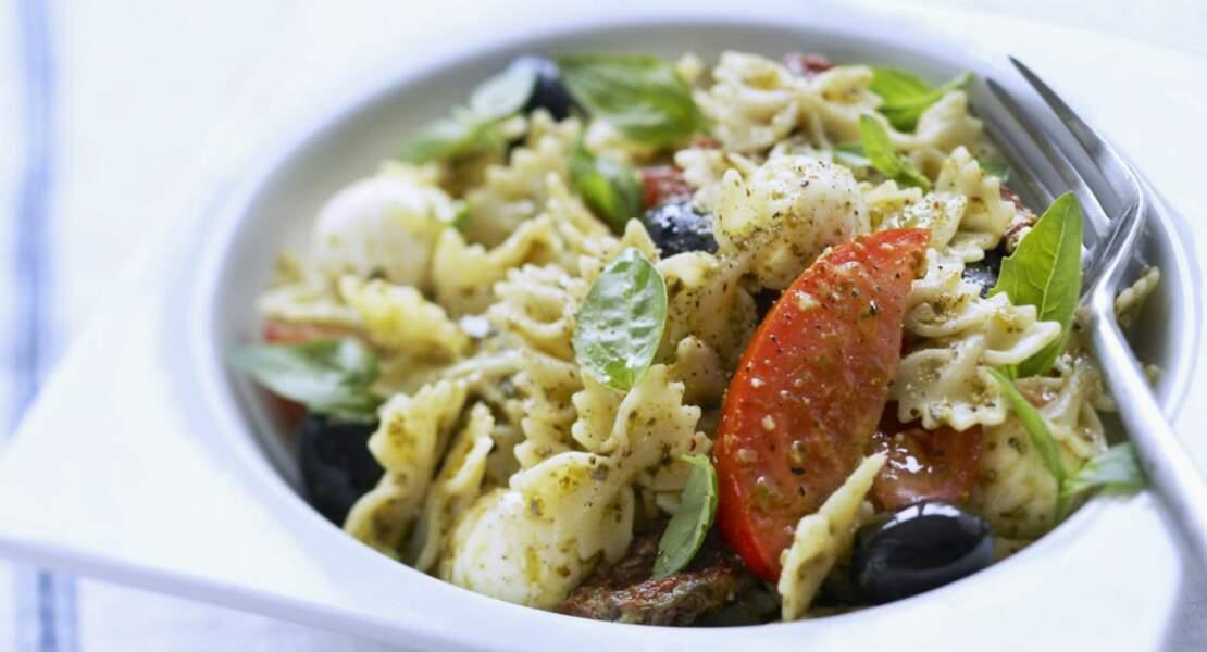 Salade de pâtes italienne aux légumes