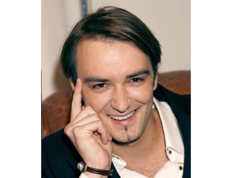 Le jeune Cyril Lignac en 2006