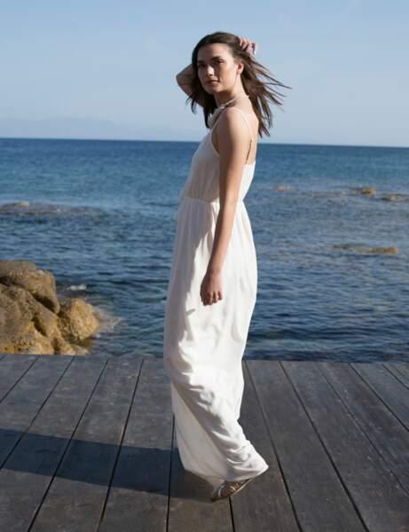 15 façons de porter la robe blanche cet été Femme Actuelle