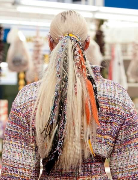 Les dreadlocks du défilé Chanel