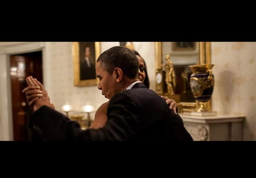 Barack et Michelle Obama : même de dos, ils sont beaux !