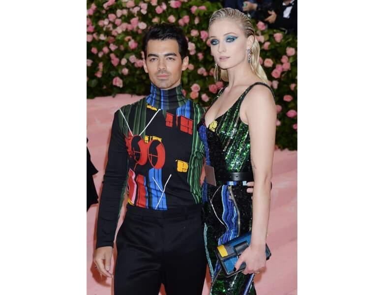 Sophie Turner et son mari Joe Jonas au MET Gala 2019
