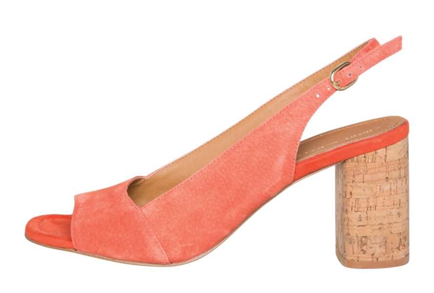 Sandales colorées