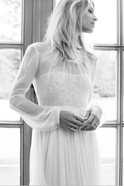 Mariage en hiver : Robe de mariée N'oublie Jamais par Margaux Tardits