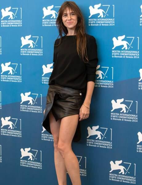 Charlotte Gainsbourg : le look mini