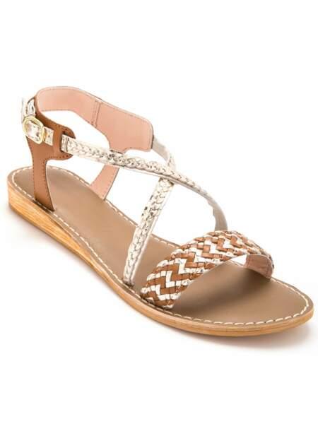 Sandales bridées