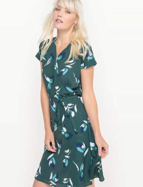 Nouveauté printemps : la robe-portefeuille