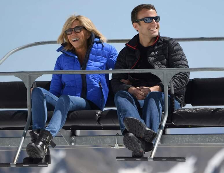 Emmanuel et Brigitte Macron - Avril 2017