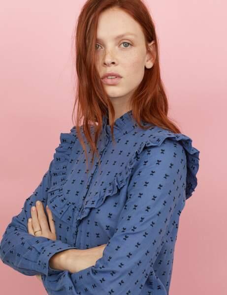Nouveautés H&M : la néo-blouse victorienne