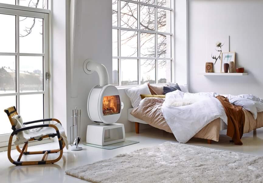 Nos poêles et radiateurs pour l'hiver : le poêle comme un oeuf