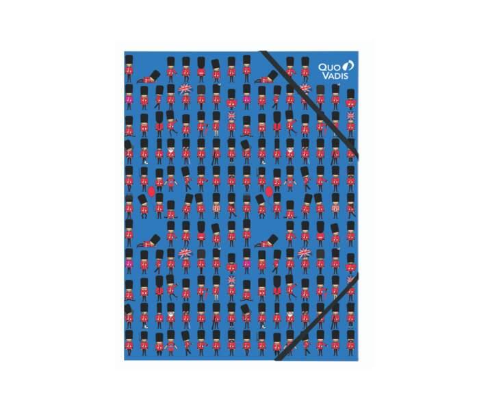 Chemise à elastique Union Jack - Quo Vadis