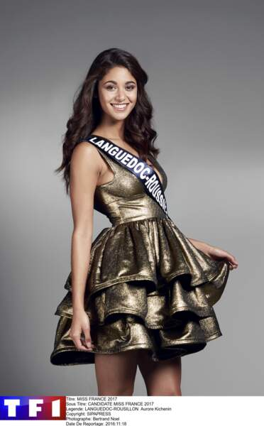 Miss Languedoc-Rousillon - Aurore Kichenin