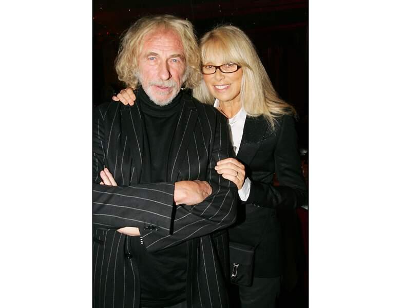 En 2006, alors âgée de 68 ans, elle pose avec Pierre Richard