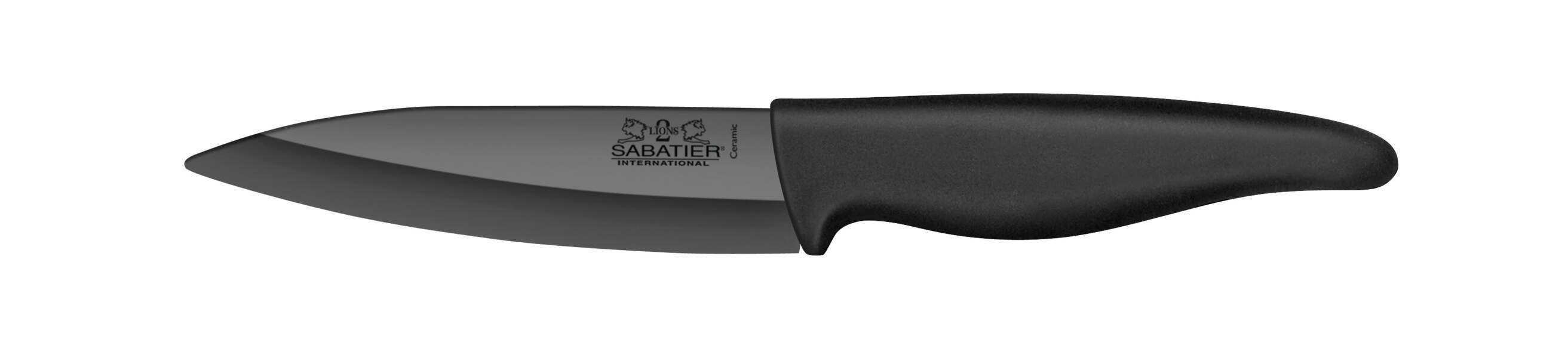 Couteau en céramique noir