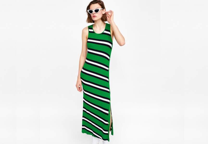 Nouveautés Zara: la robe longue