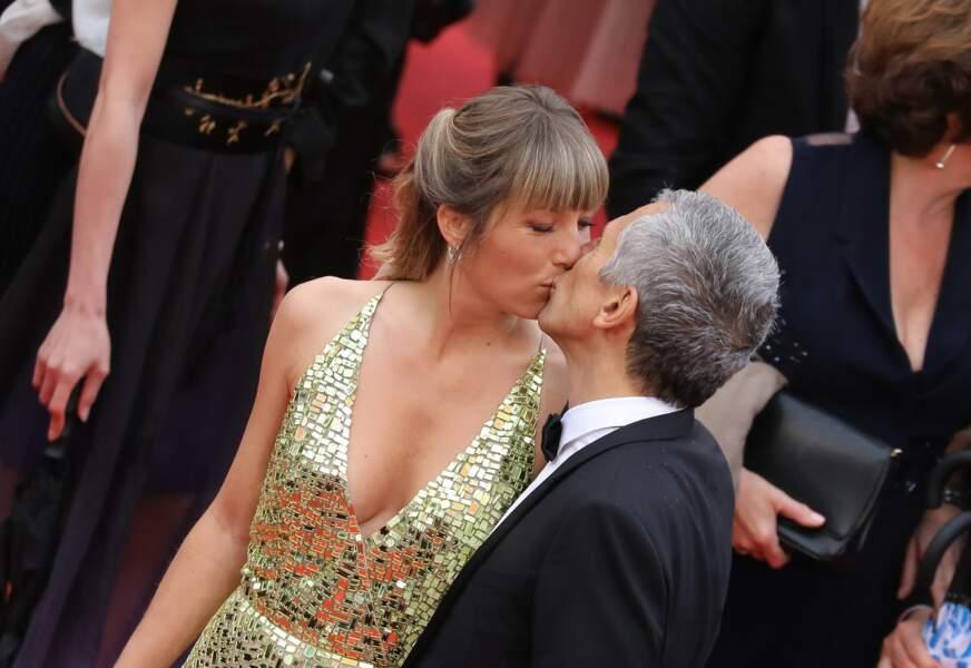 Le tendre baiser de Nagui et Mélanie Page à Cannes