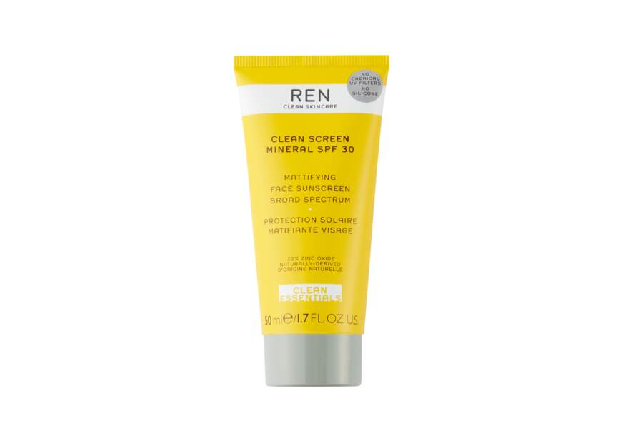 Le Clean Screen Mineral SPF 30 REN