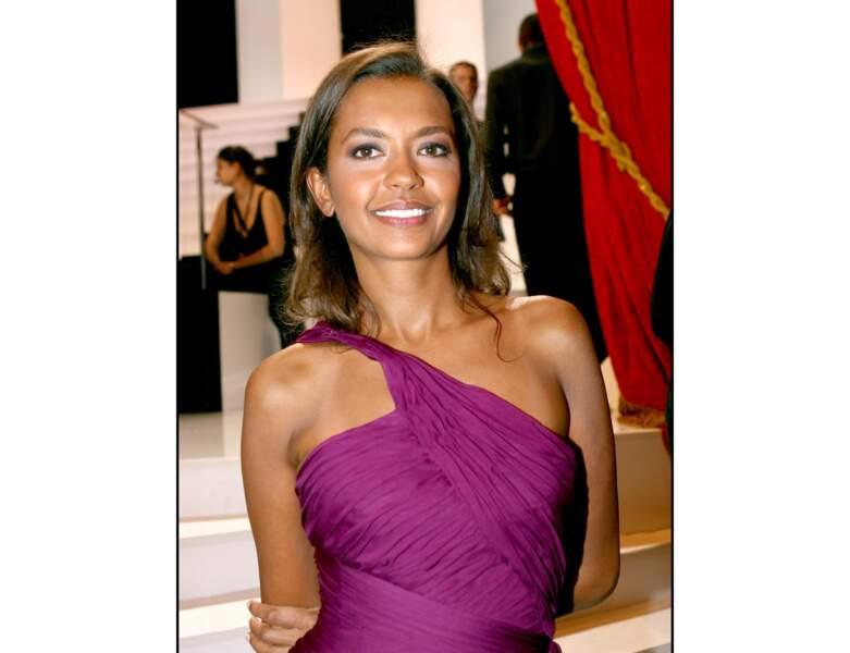 À 38 ans en 2006, elle assiste à la 20ème cérémonie des Molières