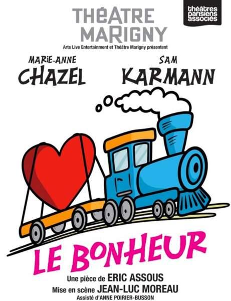 Spectacle Le bonheur, avec Marie-Anne Chazel, à partir de 26 euros