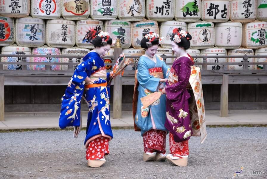 Maiko dans Matsuo Taisha