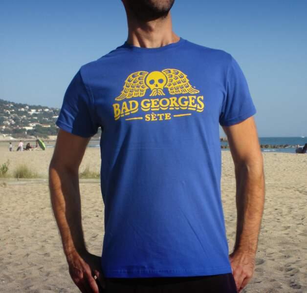 Un tee-shirt revisité de Georges Brassens