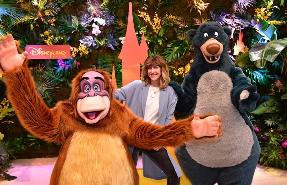 Daphne Burki fait honneur à la sortie du nouveau film Le Roi Lion à Disneyland Paris