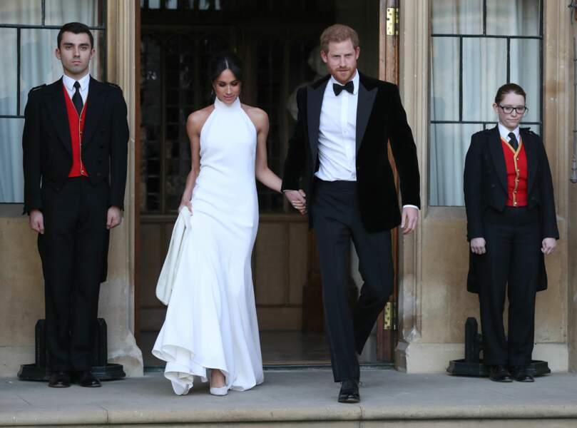 Soirée de mariage du prince Harry et de Meghan Markle à Frogmore House, le 19 mai 2018