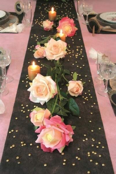 Roses & paillettes