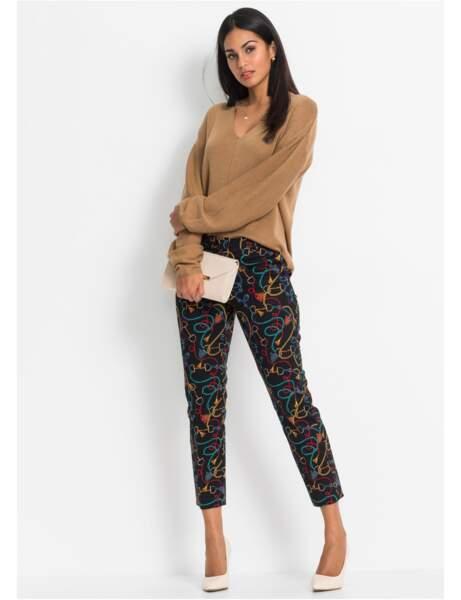 Pantalon : foulard