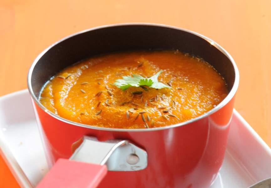 Velouté de carotte au cumin