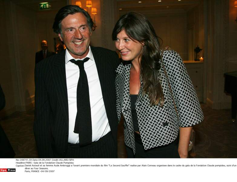 Daniel Auteuil et sa femme Aude Ambroggi : 2007