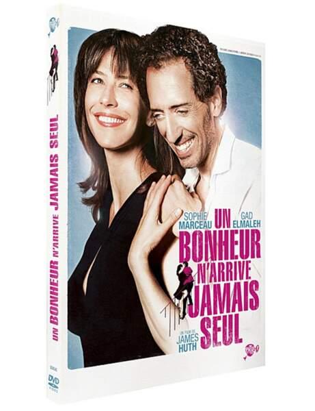 DVD Un bonheur n'arrive jamais seul, avec Gad Elmaleh et Sophie Marceau, 19,99 euros